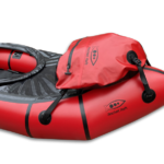 Bugtasche für Packraft in rot